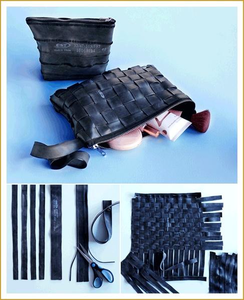 Inner tube purse