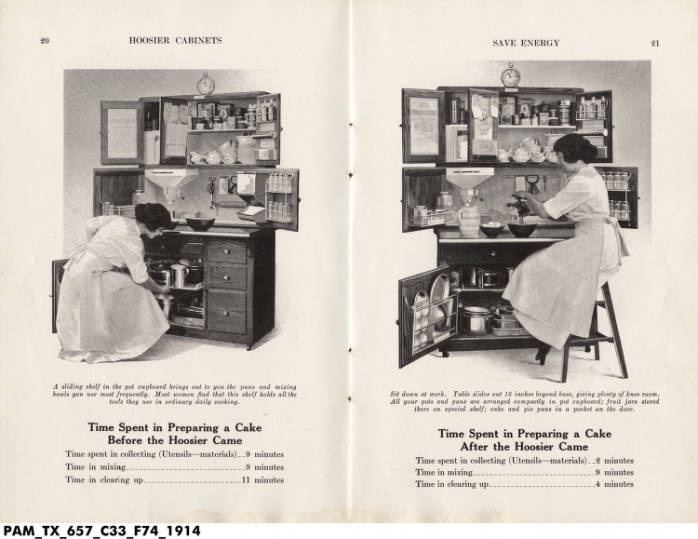Hoosier Cabinet 1914Antiques Hoosier, 1920S Kitchens, Vintage Kitchens, Hoosier Cabinets, Baking Cabinets, Kitchens Ideas, Hoosier Kitchens, Kitchens Cabinets, Cabinets 1914