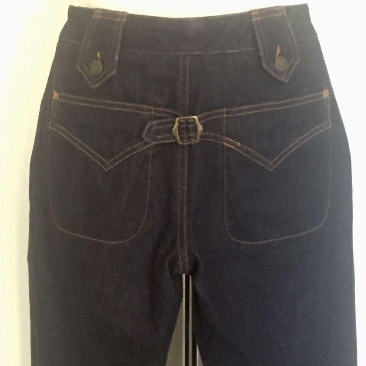 """Dolce Gabbana Jeans Size 40 Italy, 10 US (30"""" waist, 40"""" hips) Dark Wash #DolceGabbana #StraightLeg"""