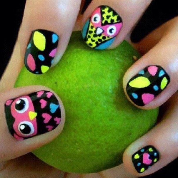 Mejores 178 imágenes de Nails en Pinterest | Maquillaje, La uña y ...