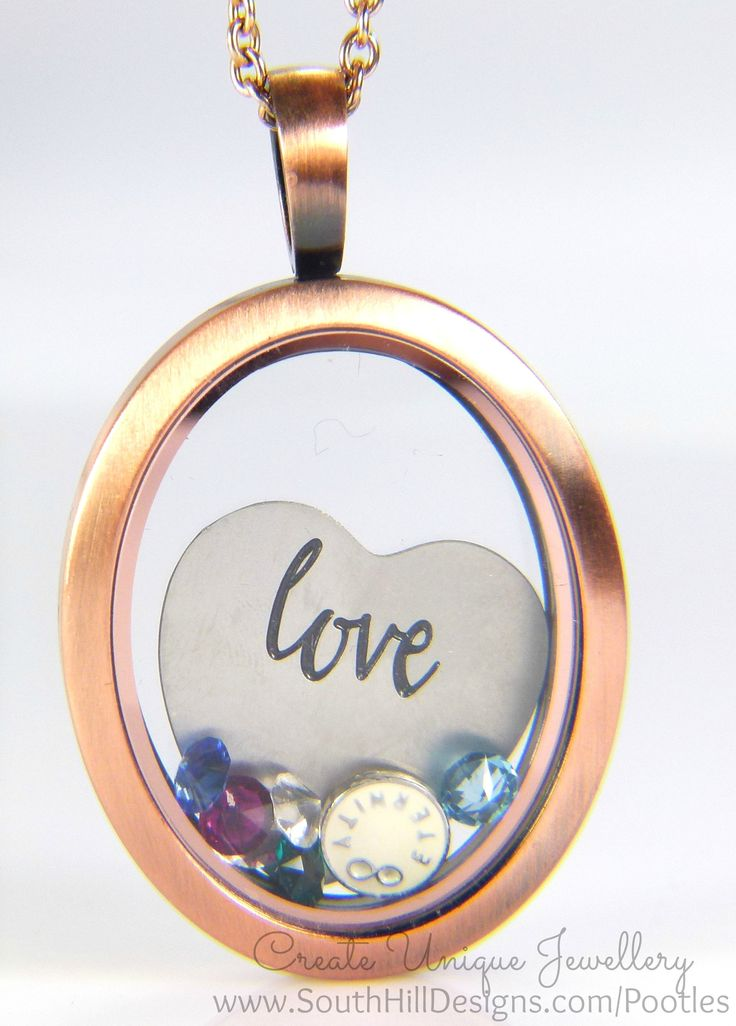 South Hill Designs - Oval Hearts and Family