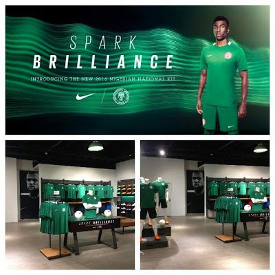 Super Eagles Unveil New Jersey     Arsenal star Alex Iwobi has modelled the new Super Eagles strip the team will formally unveilon Saturdaywhen they face Algeria in a World Cup qualifier in Uyo. Although the all-green jersey was used by the U-23s at the Rio 2016 Olympics in August it was not properly launched.  Even after the new strip made its debut in Rio the Eagles and other national teams reverted to the old jersey for subsequent matches including Super Eagles' Africa Cup of Nations…
