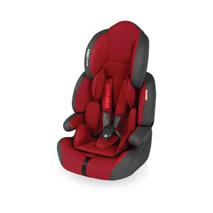 Ninio.ro va pune la dispozitie pentru achizitionare: Scaun Auto Bomiko Auto XL recomandat copiilor cu greutati cuprinse intre 9 si 36 de kilograme. Sigur si confortabil, acest scaun este dotat cu o tetiera reglabila pe inaltime, si o centura de siguranta cu prindere in cinci puncte. Cu un design modern si realizat din materiale de calitate, Scaunul auto Bomiko este alegerea perfecta pentru copilul dumneavoastra