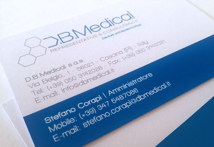 D.B.Medical | Representative & Consultancy | Devices and Biotechnology | Via Belgio, 1 – 56021 Cascina (PI) – Italy | Logo & Corporate Identity