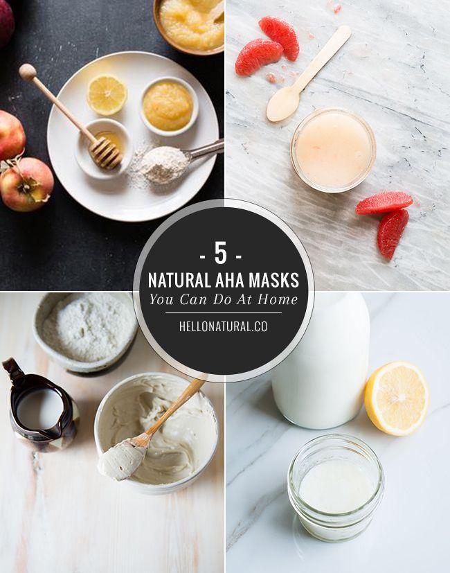 5 Natural AHA Face Masks You Can Make At Home | HelloNatural.co
