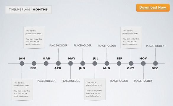 MinimalTimelineKeynoteTemplateMonthJpg   Chronology