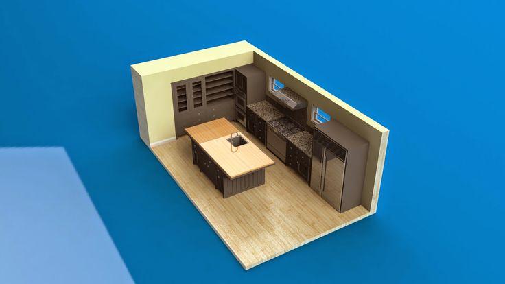 markas studio: Black Kitchen Cabinet | Kabinet Dapur Hitam