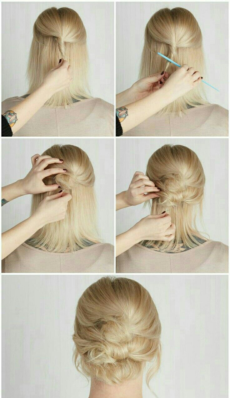 24 best penteados presos images on Pinterest | Hairstyle ideas, Hair ...