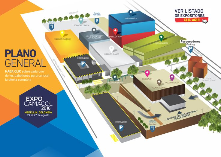 Planos | ExpoCAMACOL 2016