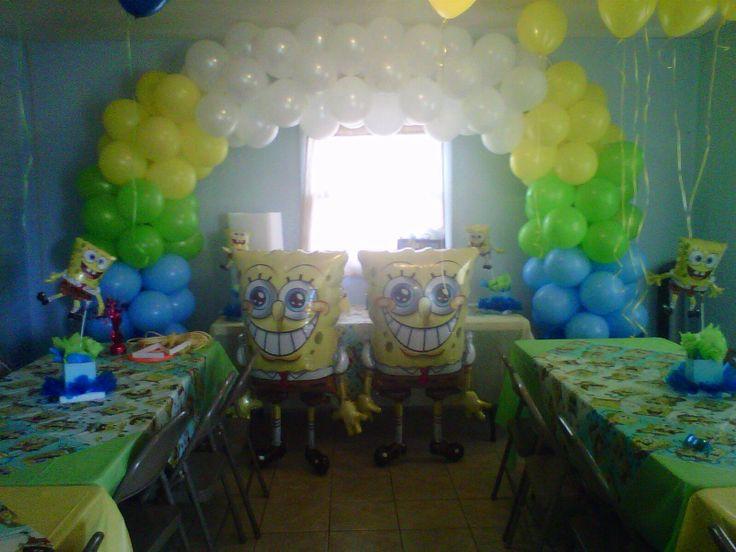 Nanisetc Spongebob Balloon Arch Balloon Decorations
