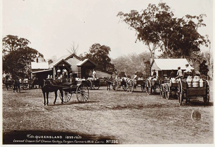 1899 Lowood Cheese factory