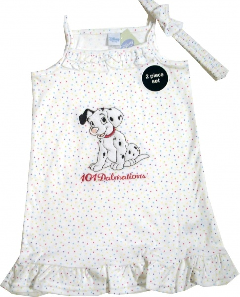 Rochita oficiala Disney cu Dalmatieni, 100% bumbac - haine copii online