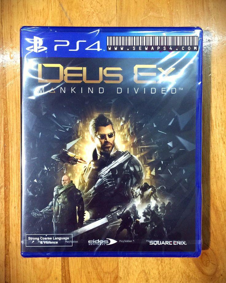 Sewaps4.com & Deus Ex is ready 😊 Sewa ps4 harian 081906060620