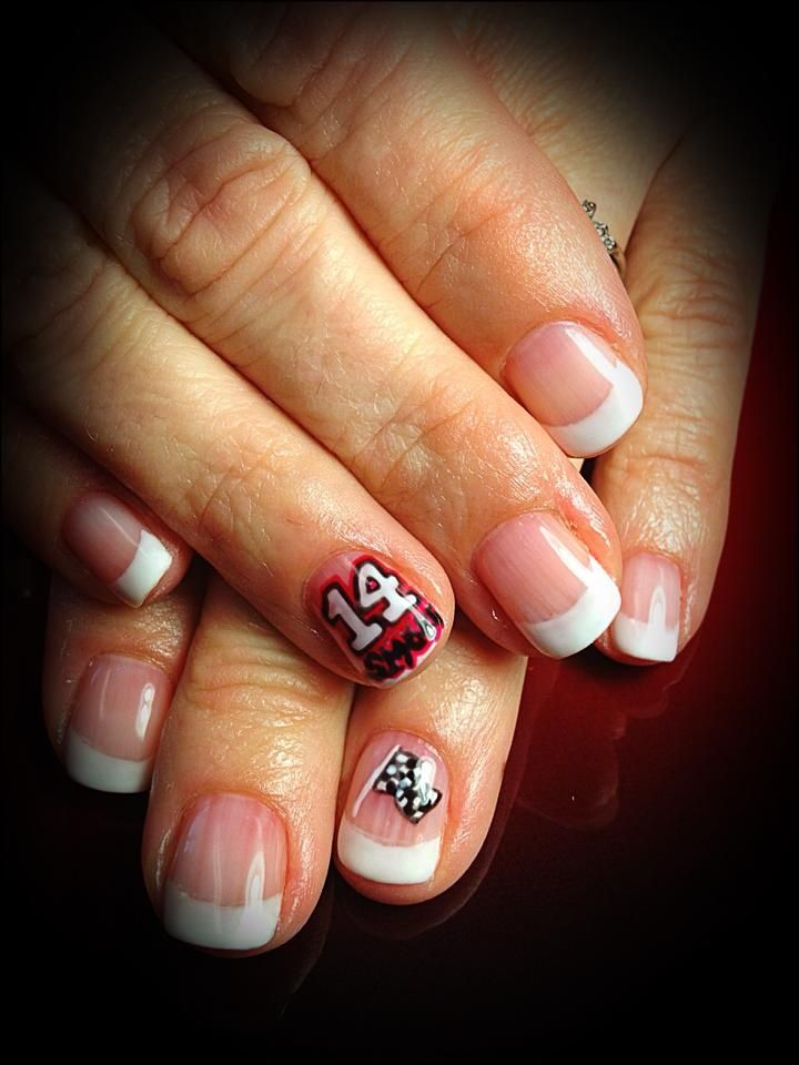 NASCAR Nail Art - 12 Best NASCAR Images On Pinterest Nascar Nails, Checkered Flag