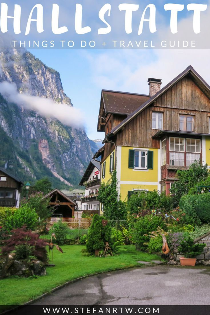 In this post I want to share some of the best things to do in Hallstatt if you're planning to visit this beautiful small town in Austria. It's full of helpful travel tips and you'll get a better look of what to expect on your trip to Hallstatt. From parking tips and hidden gems to recommendations on the best places to stay - this is the ultimate Hallstatt travel guide! #hallstatt