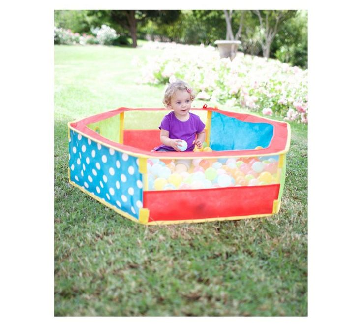 Buy ELC Hexagonal Ball Pit at Argos.co.uk, visit Argos.co.uk to shop online for Ball pits, Playhouses and activity centres, Outdoor toys, Toys