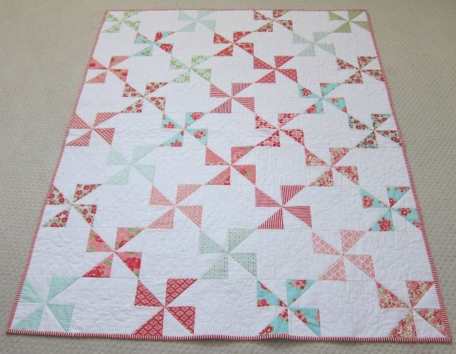Simple Pinwheel Quilt Sew Blessed Inspiration