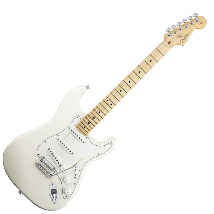 american standard 2010 olympic white strat with maple neck my only current strat choices of. Black Bedroom Furniture Sets. Home Design Ideas