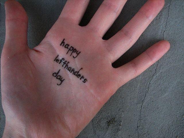 Happy Left-Handers Day - http://www.iloveusa.com/events/happy-left-handers-day/?utm_source=Pinterest&utm_medium=pinterest.com%2Filoveusa&utm_campaign=SNAP%2Bfrom%2BILoveUSA.com