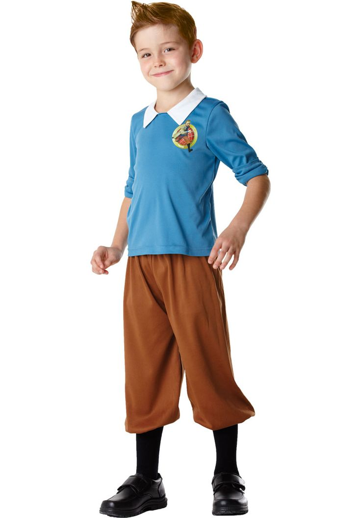 Transform your child into this heroic reporter with our brilliant TinTin Child Costume.