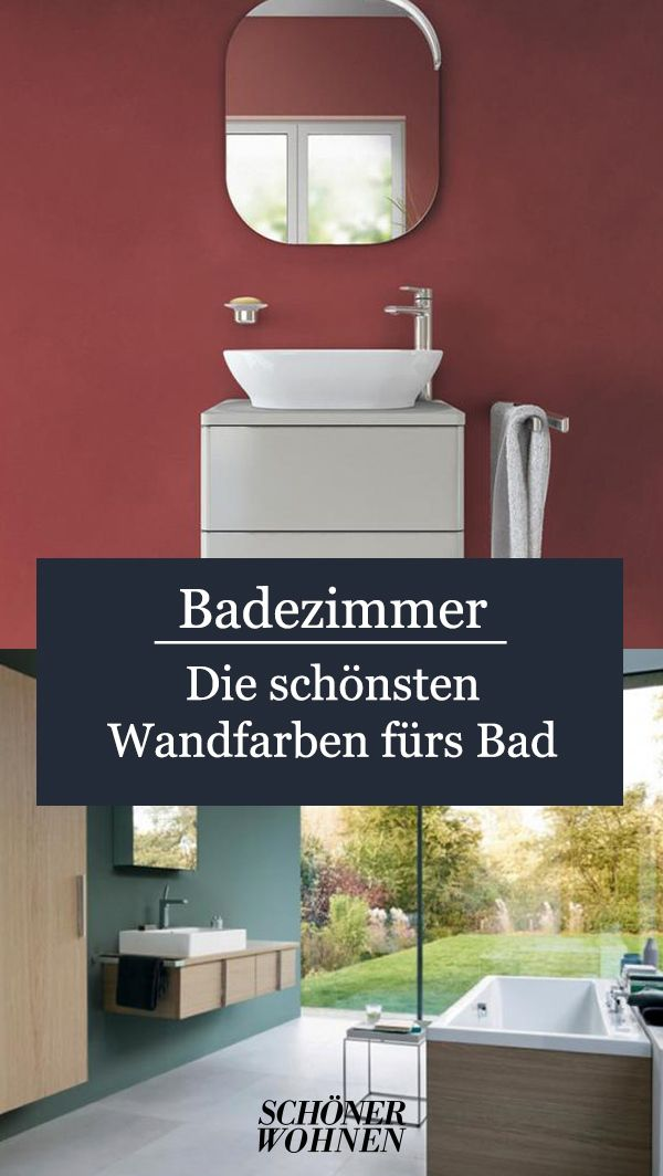 Gruntone Wirken Entspannend Bild 7 Badezimmer Gestalten Badezimmer Farben Bad Wandfarben