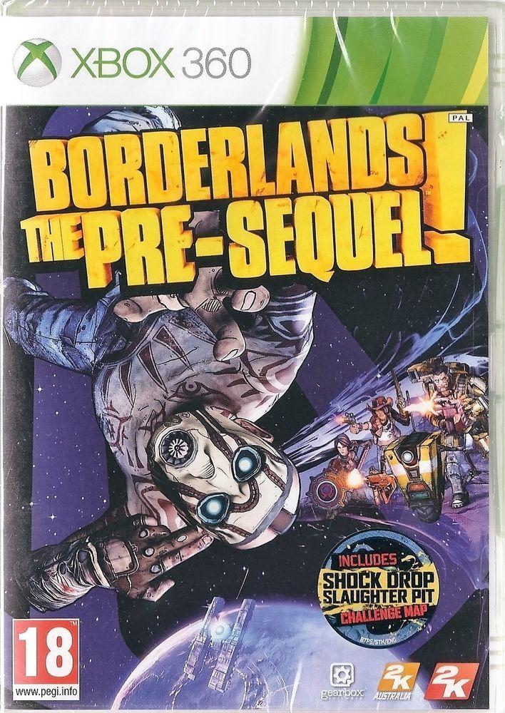 Xbox 360  Borderlands: The Pre-sequel! BRAND NEW