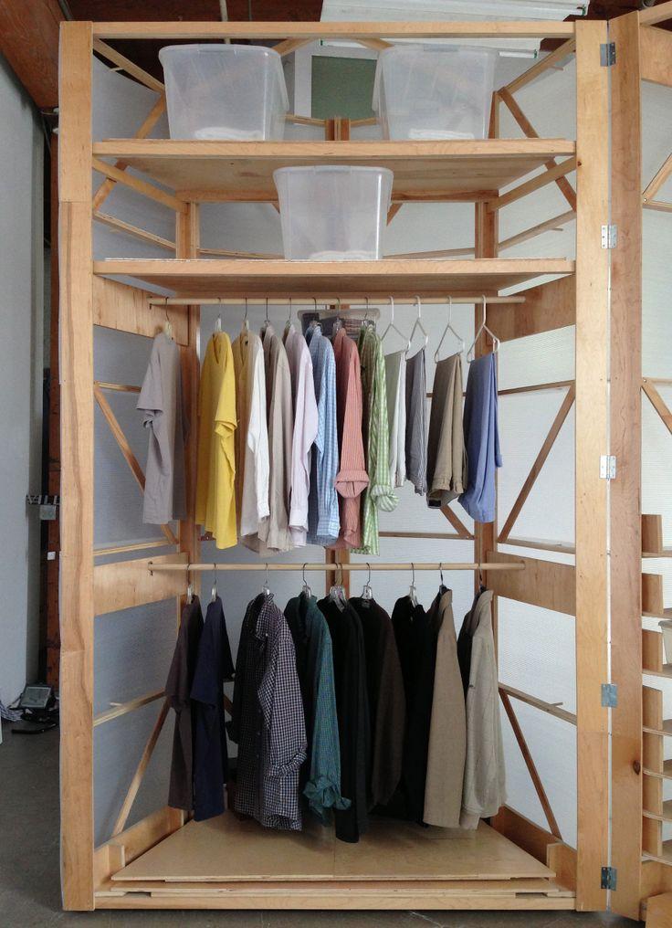 Tuberoom Portable begehbarer Kleiderschrank von Tom Villa   Alles sofort für Dein Zuhause ...