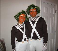 DIY Halloween Costume Ideas for Couples @KD Eustaquio Delgado be an oompa loompa with me!!