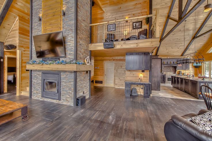 17 best images about gallery timberblock my heart cabin and logs - Cabin floor concept ...