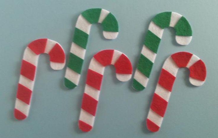 Five Little Candy Canes – Felt Board Magic