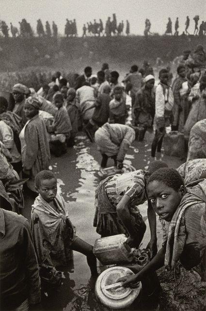 "Sebastiao Salgado, photographer of ""Migrations"""