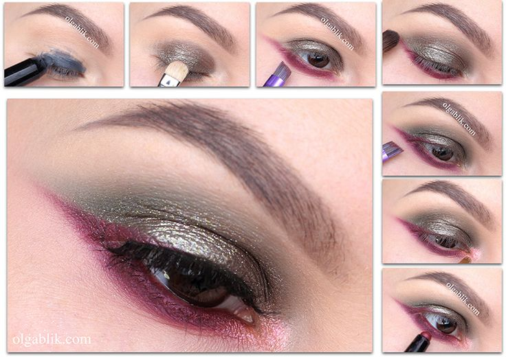 Urban Decay Moondust Eyeshadow Palette Makeup Tutorial, Пошаговый макияж, Фото