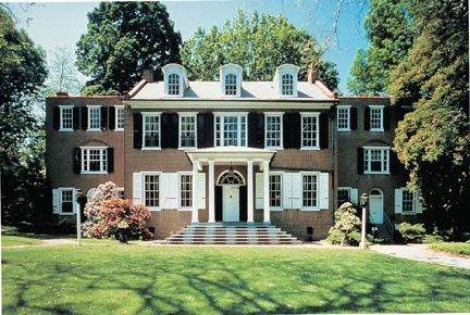 One of the most famous of all late Federal period houses in Lancaster County is Wheatland, the residence of James Buchanan, Pennsylvania's only United States President.