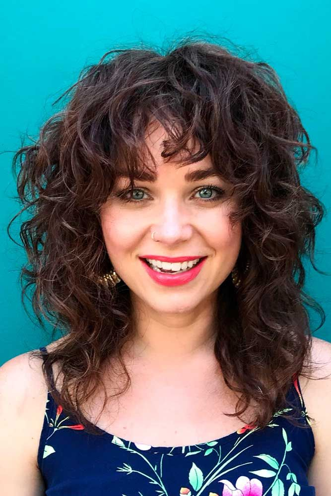 15++ Shaggy layers for curly hair ideas in 2021