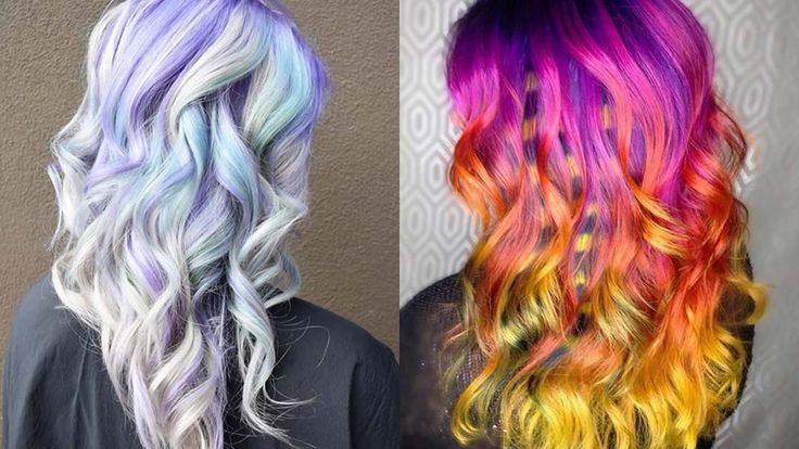 Colorful Hairstyles for Spring&Summer 2017 - 2018 Tutorilas and Videos  http://www.hairstyleslife.com/colorful-hairstyles/