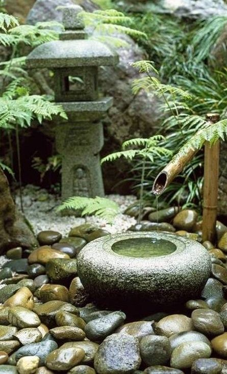 onderdeel Japanse tuin