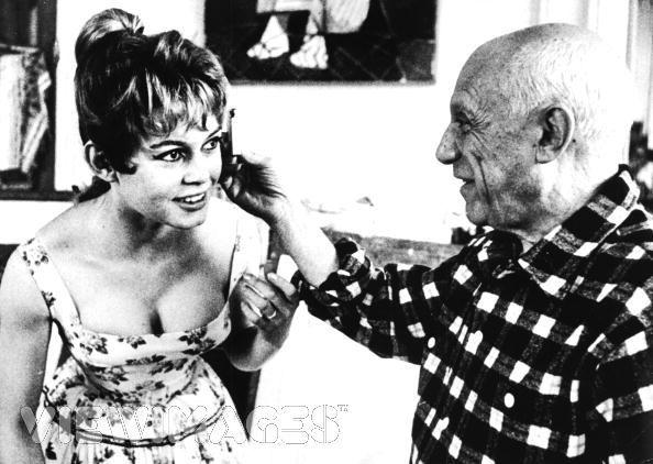 Bardot meets Picasso.