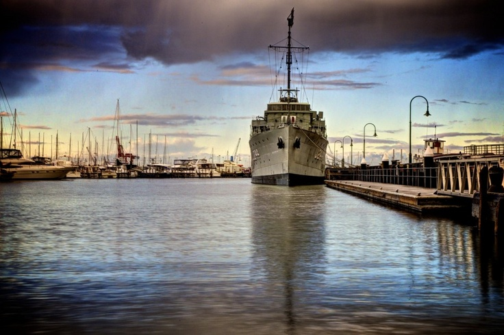HMAS Castlemaine permanently docked