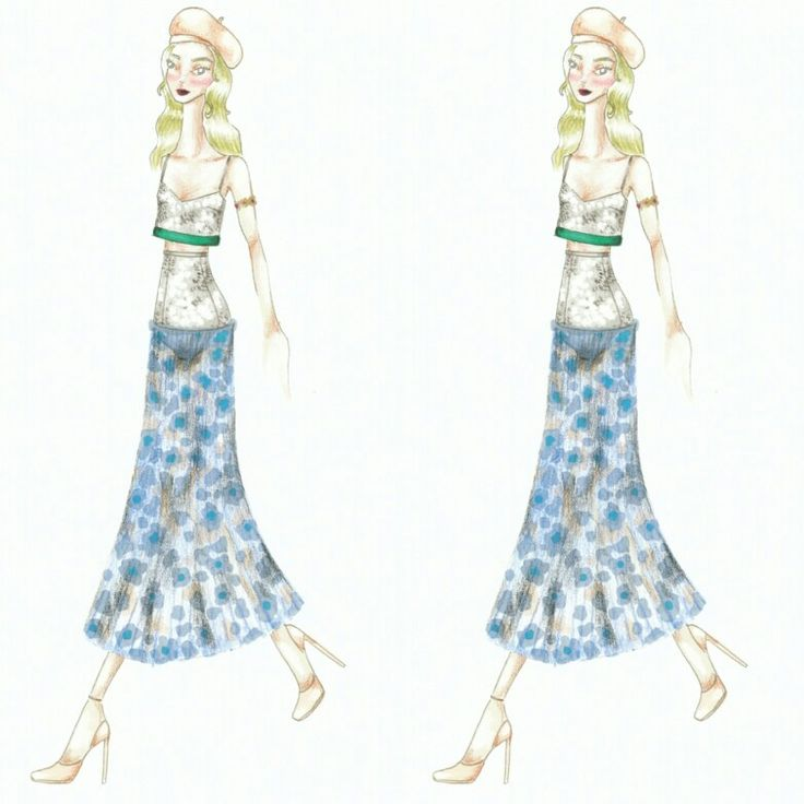 Wonderland (30) Fashion sketch