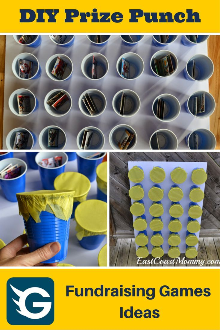 How to make DIY Prize Punch for your fundraiser event? #DIY #fundraisinggame #fundraising Create your online fundraising campaign at gogetfunding.com