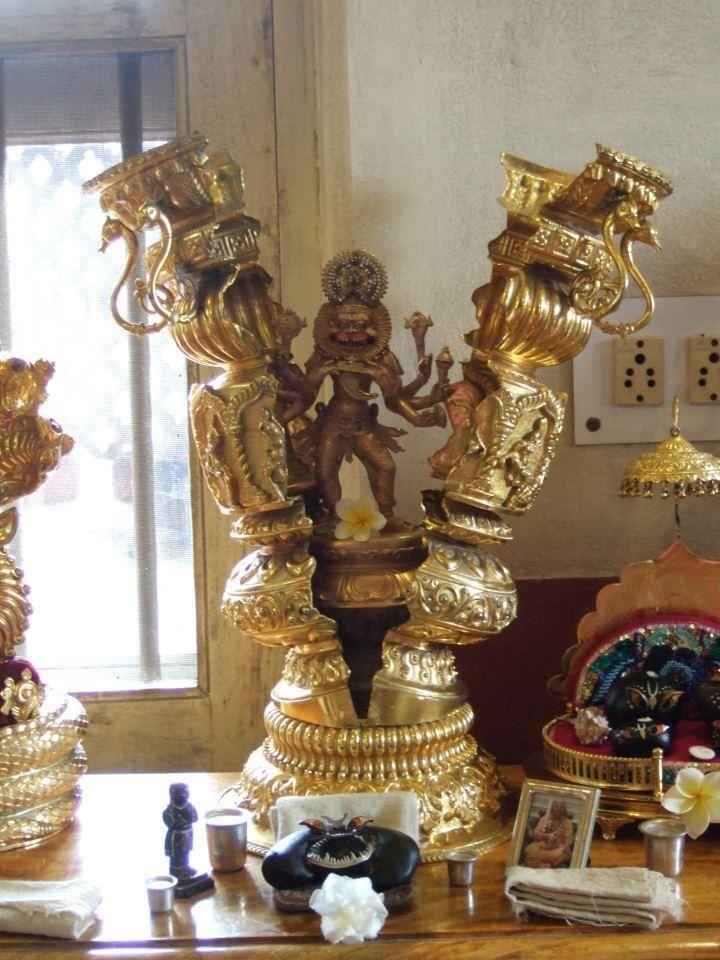 jayalalita: drx108: Narasimha Caturdasi - Ki Jay ! (fb/source) AMAZING DEITY.