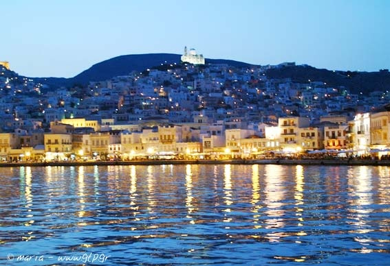 Syros Greek Ferry guide - DANAE Greek Travel Services Online