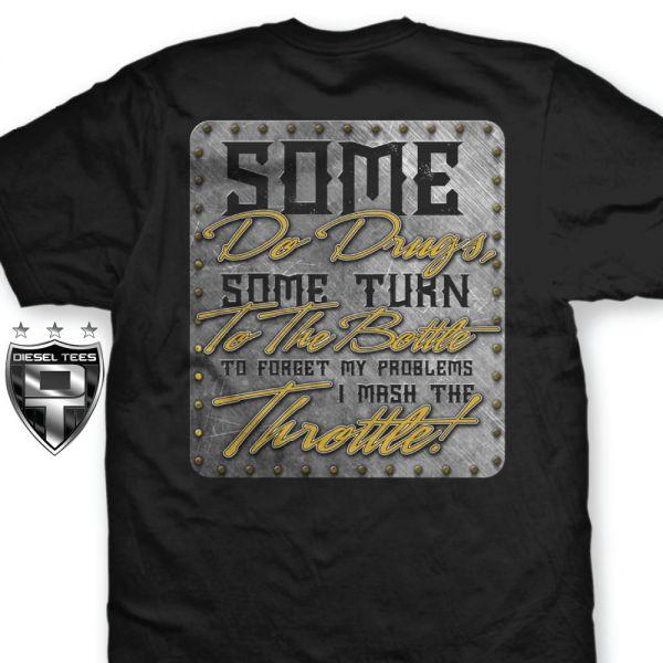 """Mash The Throttle"" NEW T Shirt - Diesel Tees- T Shirts ..."
