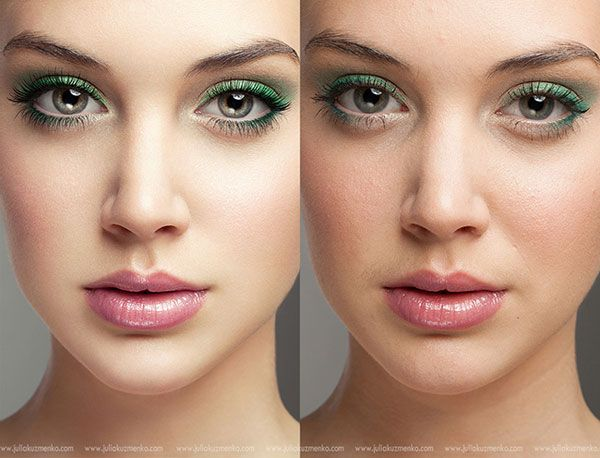 Portrait Retouching Before/After in Photoshop ...