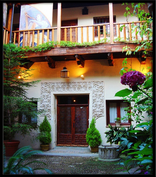 Courtyard, Toledo, Spain