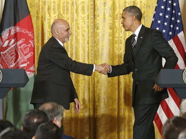 Ashraf Ghani – Bringing maturity back to international politics ,Afghanistan's President Ashraf Ghani (L) shakes hands with U.S. President Barack Obama after their joint news conference at the White House in Washington March 24, 2015.