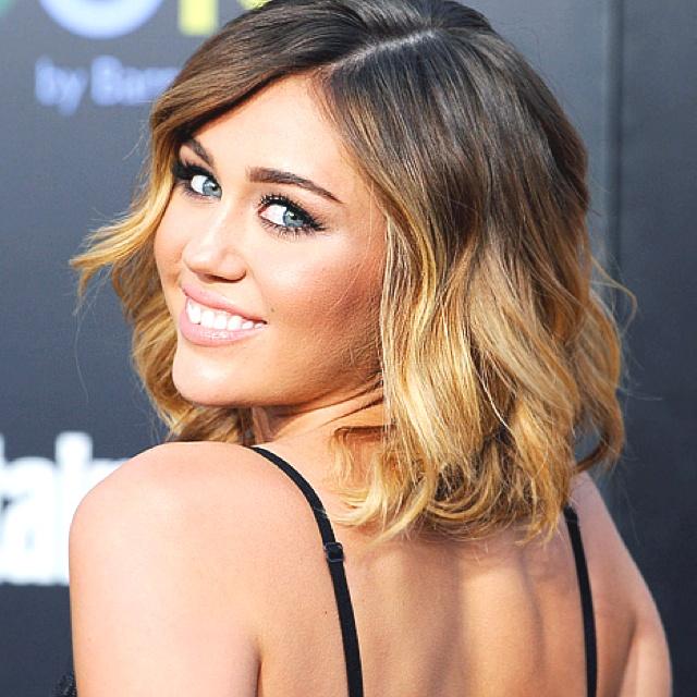 Miley Cyrus hair: Miley Cyrus, Shorts Hair, Ombre Hair, Haircolor, Ombrehair, Hair Style, Shorthair, Hair Color, Mileycyrus