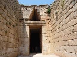 Tumba de Agamenon  en Micenas. Grecia