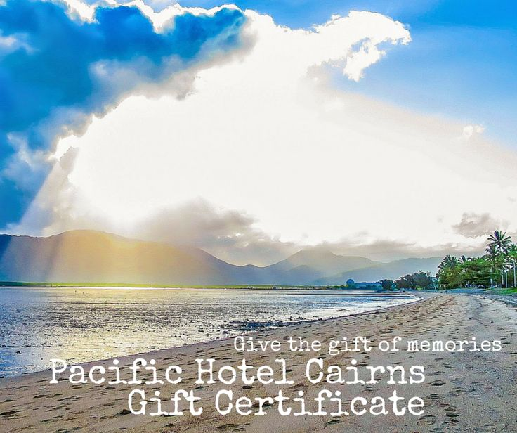 Give a gift of memories this year......we have gift vouchers available for Pacific Hotel Cairns or for Bushfire Flame Grill. Contact our front desk to purchase 4051 7888www.pacifichotelcairns.com #cairns #cairnsaccommodation