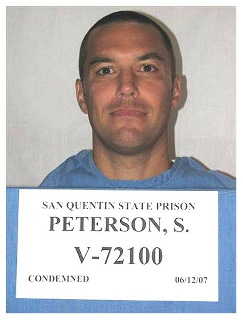 Scott Peterson  Housed on death row at San Quentin State Prison, Peterson was found guilty in 2005 of killing his wife Laci and their unborn son Conner.